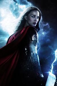 320x480 Natalie Portman Thor Lady Jane Foster
