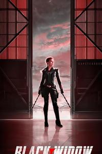 1080x2280 Natasha Romanoff Black Widow 4k