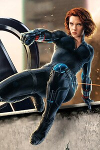 640x1136 Natasha Romanoff Black Widow