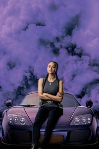480x854 Nathalie Emmanuel As Ramsey In Fast 9 8k