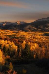 Nature Mountains Autumn