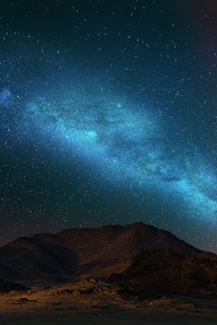 Nature Scenery Colorful Stars Space