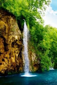 1242x2688 Nature Waterfall 2