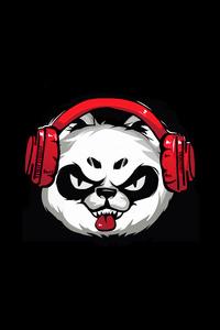 1080x1920 Naughty Panda Minimal 5k