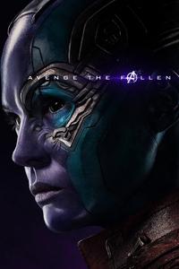Nebula Avengers Endgame 2019 Poster