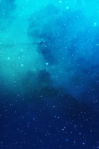 1080x1920 Nebula Blue Space