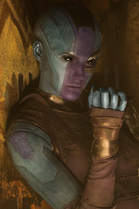 Nebula Guardians Of The Galaxy Vol 2 5k