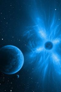 1080x1920 Nebula In Apophysis 4k