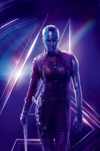 Nebula In Avengers Infinity War 8k Poster