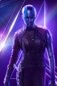 Nebula In Avengers Infinity War New Poster