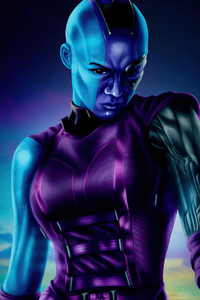 720x1280 Nebula In Guardians Of The Galaxy