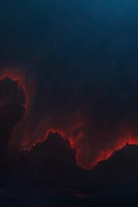 Nebula Landscape 5k