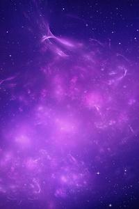 Nebula Purple Fractal 4k