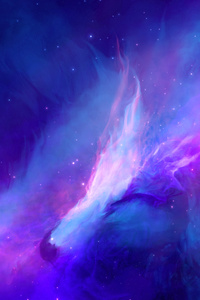 320x568 Nebula Space Art