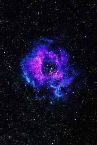 540x960 Nebula Space Universe 5k