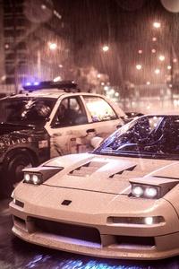 Need For Speed Acura Nsx Vs Police Car 4k