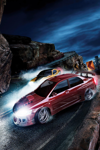 480x854 Need For Speed Carbon Key Art 5k