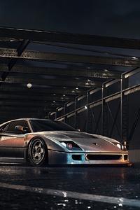 1125x2436 Need For Speed Ferrari F40 4k