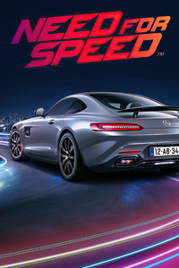 1080x2160 Need For Speed Mercedes Amg Gtr