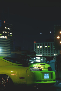 750x1334 Need For Speed Supra Car