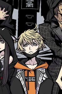 1242x2688 Neo The World Ends With You 2021 4k
