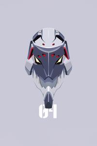 640x1136 Neon Genesis Evangelion Initial Machine 04
