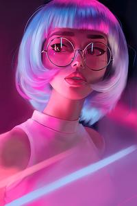 Neon Girl Glasses