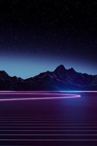 Neon Highway 4k