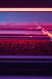 2160x3840 Neon Light 5k