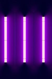 320x480 Neon Lights Purple