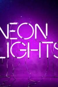 1280x2120 Neon Lights