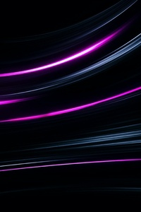 Neon Lines Abstract Glowing Lines