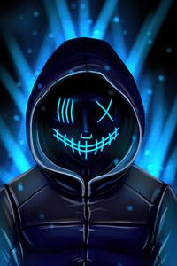 Neon Mask 4k