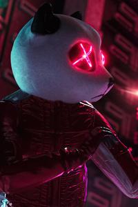 Neon Panda Ready For Night 5k