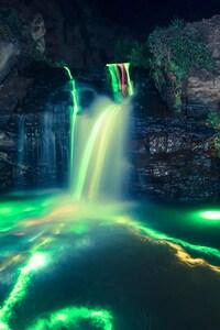 1280x2120 Neon Water