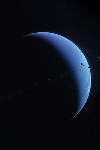 800x1280 Neptune Planet Space 5k