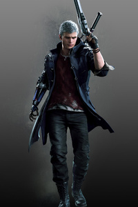 480x800 Nero Devil May Cry 5 2019