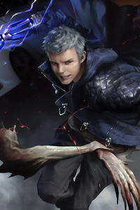 Nero In Devil May Cry 5 4k Art
