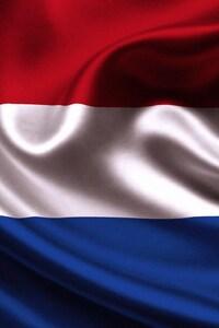 1440x2960 Netherlands Flag