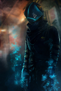 Neuromancer Cyberpunk Cop
