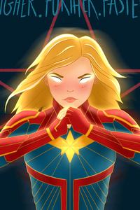 New Art Captain Marvel