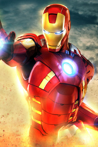 New Art Iron Man