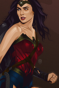 New Art Of Wonder Woman