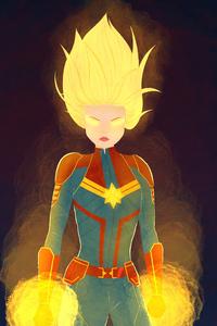 New Artwork Captain Marvel