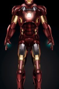 640x960 New Artwork Iron Man