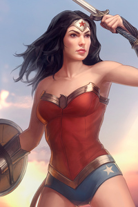 New Artwork Of Wonder Woman