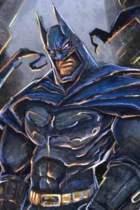 New Batman Paint Art