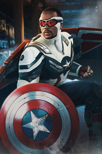 1280x2120 New Captain America 5k