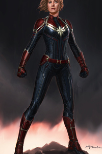New Captain Marvel Concept Art