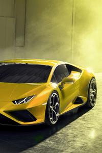 1440x2560 New Lamborghini Huracan EVO RWD 2020